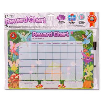 Reward Chart Magnetic Fairies