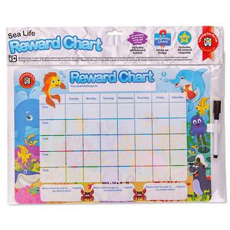 Reward Chart Magnetic Sea Life