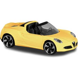 Romeo 4C Spider Yellow