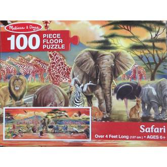 Melissa & Doug Floor Puzzle Safari