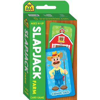 School Zone Card Game Slapjack Farm