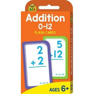 School Zone Flash Cards, Addition