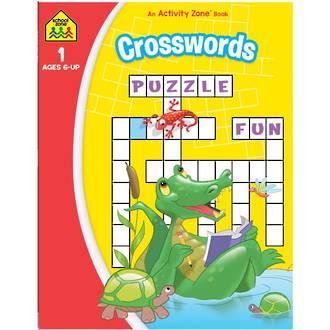 School Zone Get Ready Crosswords