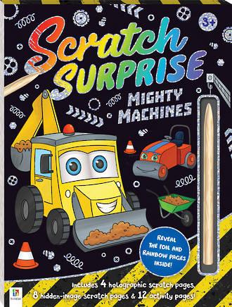 Scratch Surprise: Mighty Machines