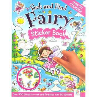 Seek and Find Fairy Sticker Book