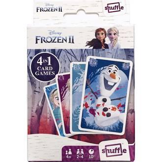 Shuffle Frozen 2 4-in-1 Card Game