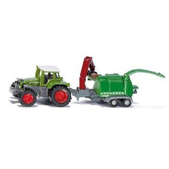 Siku 1675 Fendt Tractor With Wood Chipper