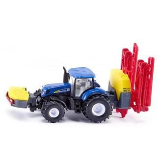 Siku 1799 New Holland Tractor with Kverneland crop sprayer