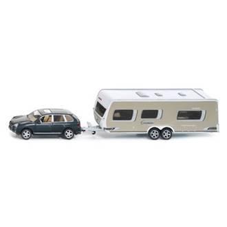 Siku 2542 Car With Caravan