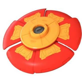 Slider Disc Orange & Red