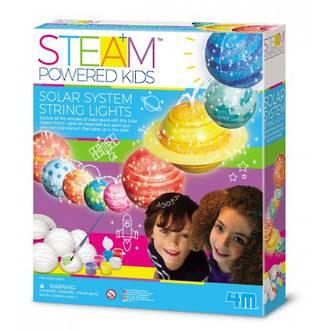 Steam Powered Girls - Solar System String Lights