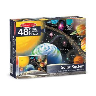 Melissa & Doug Floor Puzzle Solar System