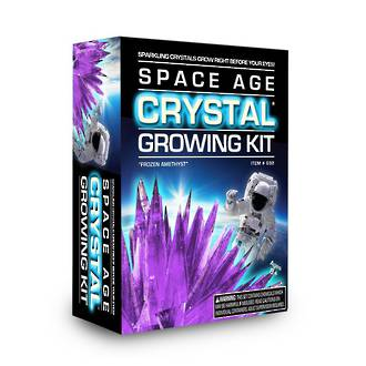 Space Age Crystal Growing Kit Frozen Amethyst