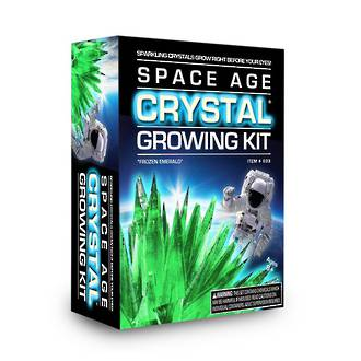 Space Age Crystal Growing Kit Frozen Emerald