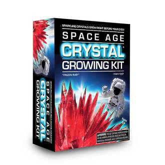 Space Age Crystal Growing Kit Frozen Ruby