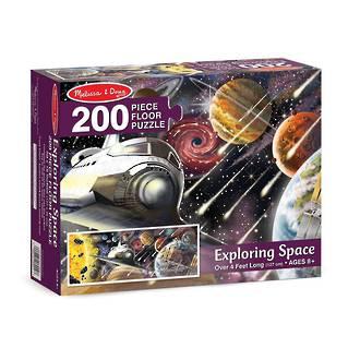 Melissa & Doug Floor Puzzle Exploring Space