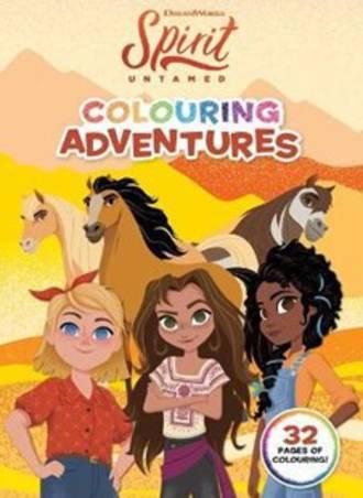 Spirit Untamed Colouring Adventures