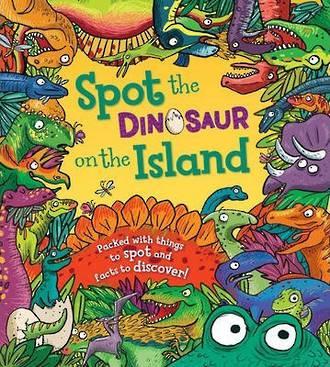 Spot the Dinosaur on the Island