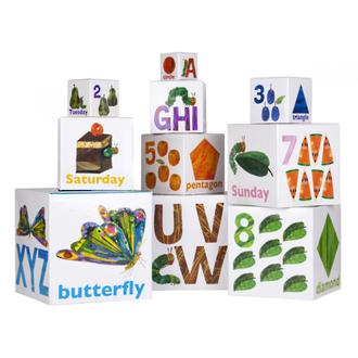 Stacking Blocks - Very Hungry Caterpillar