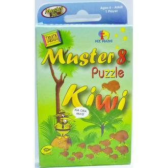 Tarata Kiwi Puzzles Muster 8 Kiwi Puzzles
