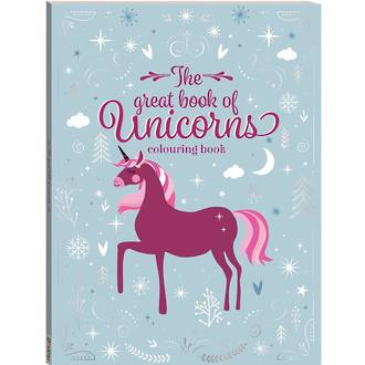 The Great Book of Unicorns Colouring Book