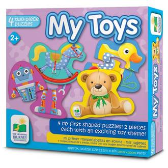 The Learning Journey My First Shaped Puzzle - My Toys