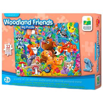 The Learning Journey My First Woodland Friends Puzzle (12pc)