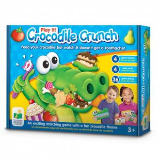 The Learning Journey Play It Crocodile Crunch