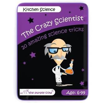 The Purple Cow Crazy Scientist Kitchen Science