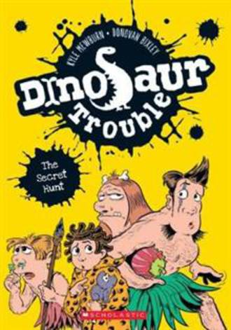 Dinosaur Trouble #4 The Secret Hunt