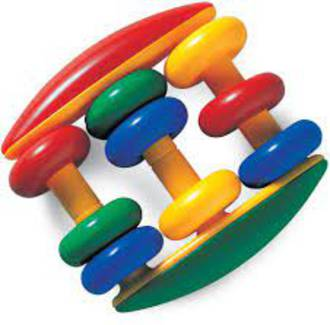 Tolo Abacus Baby Rattle
