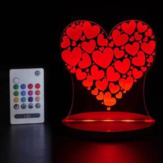 Tulio Night Lights Heart