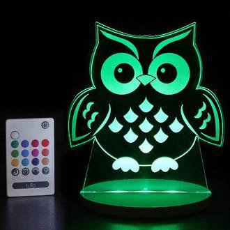 Tulio Night Lights Owl