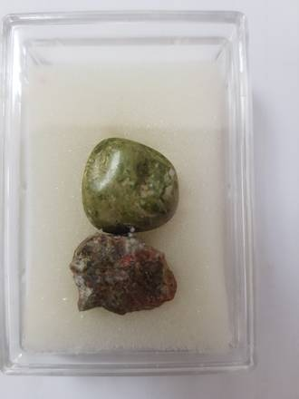 Mineral and Gem Collection - Unakite