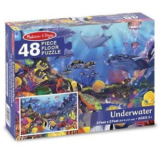 Melissa & Doug Floor Puzzle Underwater