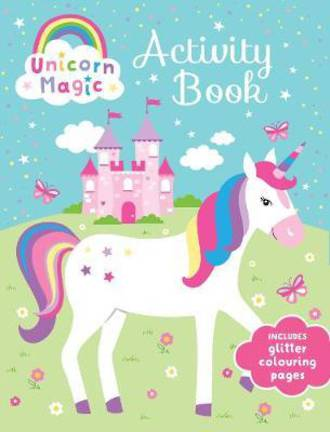 Unicorn Magic Glitter Activity Book