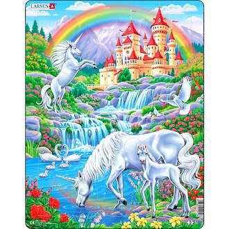 Larsen Maxi Puzzle Unicorns (32pc)