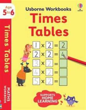 Usborne Workbooks Times tables 5-6