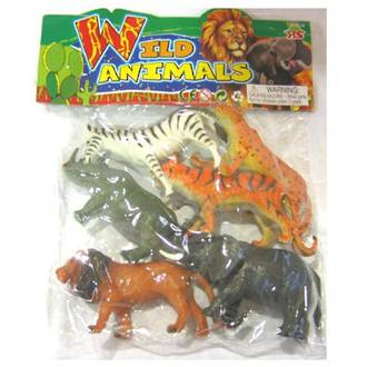 Wild Animals Poly Bag