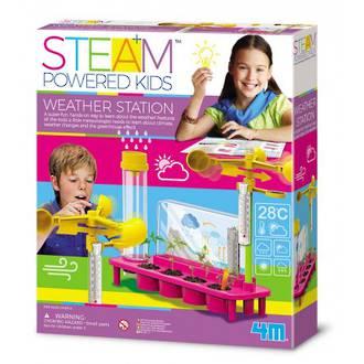 4M Steam Powered Girls Weather Station