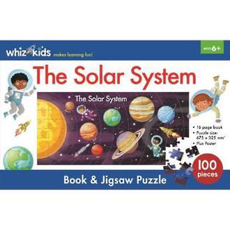 Whiz Kids - The Solar System Book & Jigsaw Set
