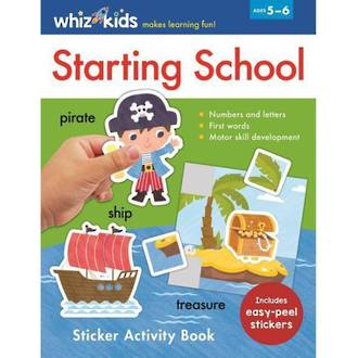 Whiz Kids Starting School Sticker Activity Book