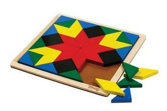 Wooden Mosaic - Block Board