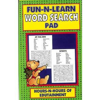 Fun-N-Learn Word Search Pad