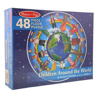 Melissa & Doug Floor Puzzle Children Around the World
