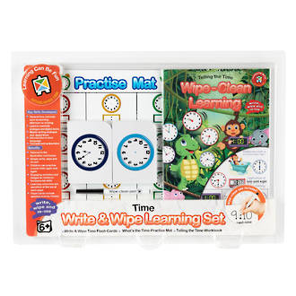 Write & Wipe Learning Set Time