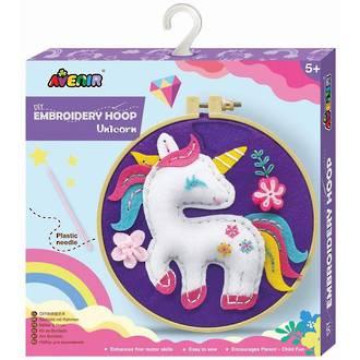 Avenir DIY Embroidery Hoop Unicorn