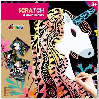 Avenir Scratch 4 Majic Unicorns