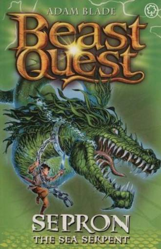 Beast Quest Series 1 - Sepron The Sea Serpent