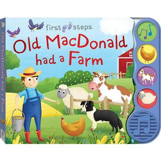 Old Macdonald Had A farm - Noisy Board Book